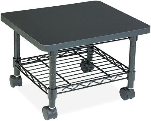 Safco Wire Under Desk Machine Stand, Black (BL) 5206BL