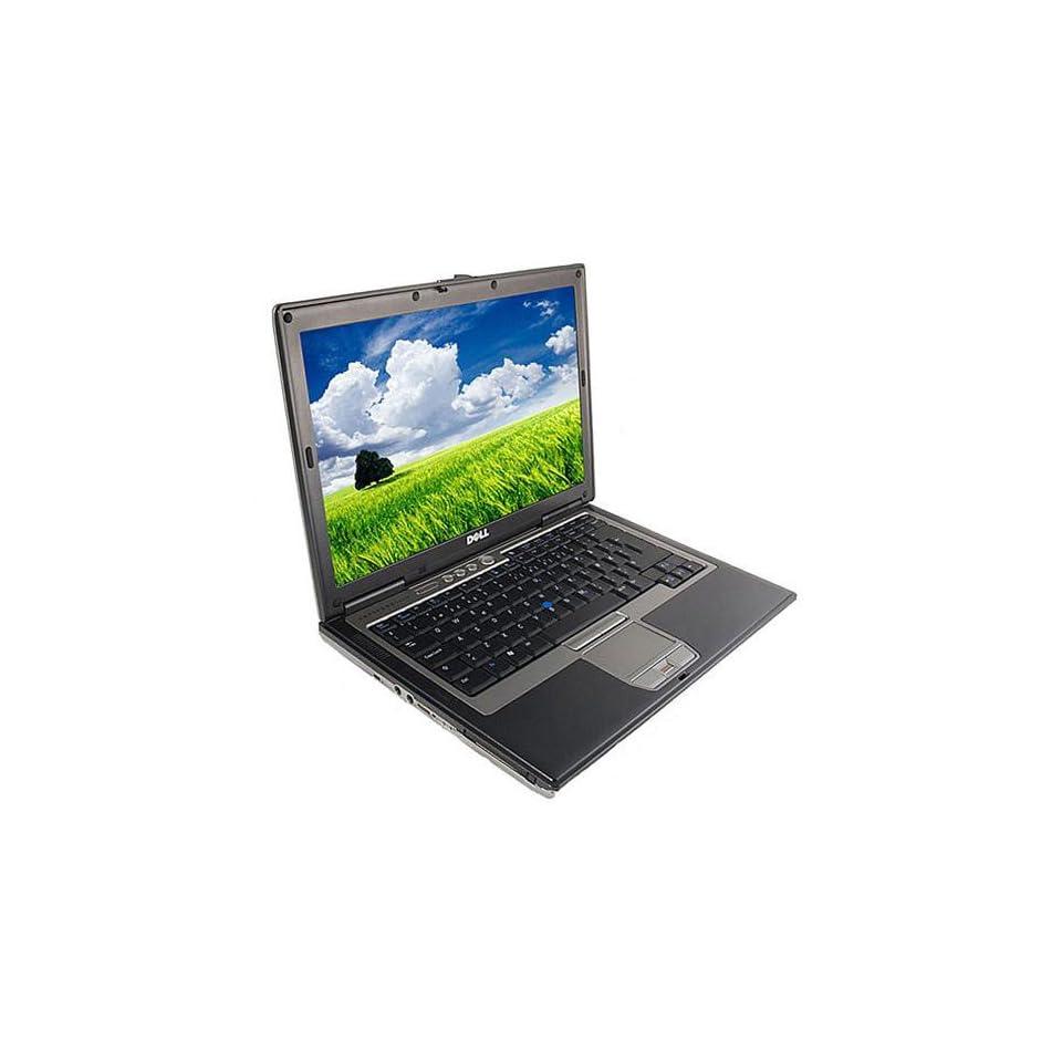 Dell Latitude D620 Duo Core WIFI Laptop Computer with Intel Core Duo Processor 2.0 GHZ, 2.0 GB of RAM, 40 GB Hard Drive, WIN XP PRO, WIFI