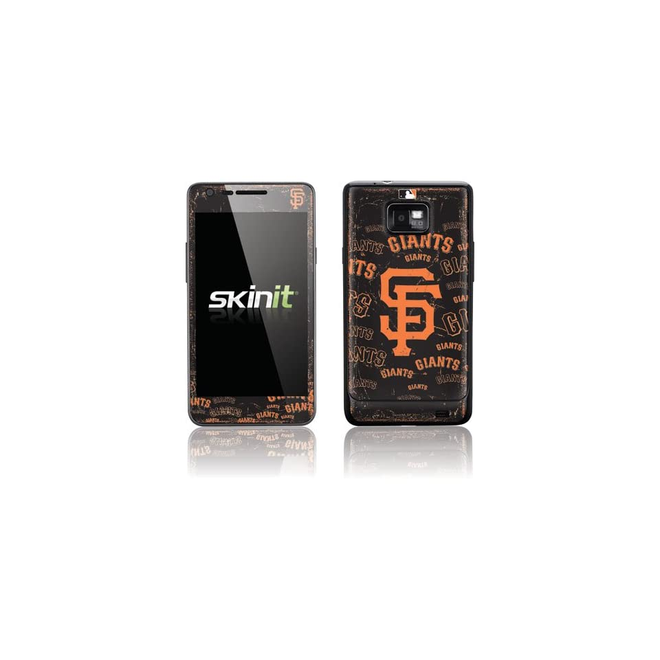 MLB San Francisco Giants Galaxy S II AT&T Skin   San Francisco Giants   Cap Logo Blast Vinyl Decal Skin For Your Galaxy S II AT&T