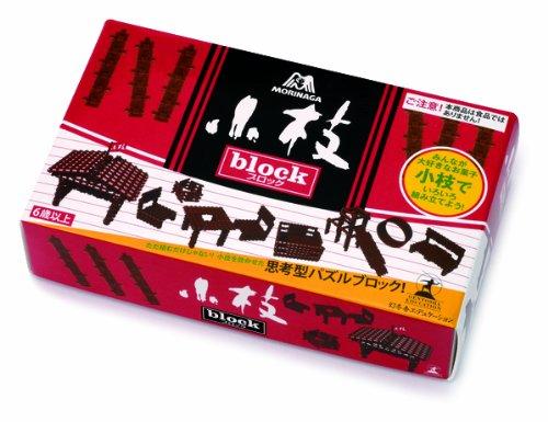 森永製菓の小枝block