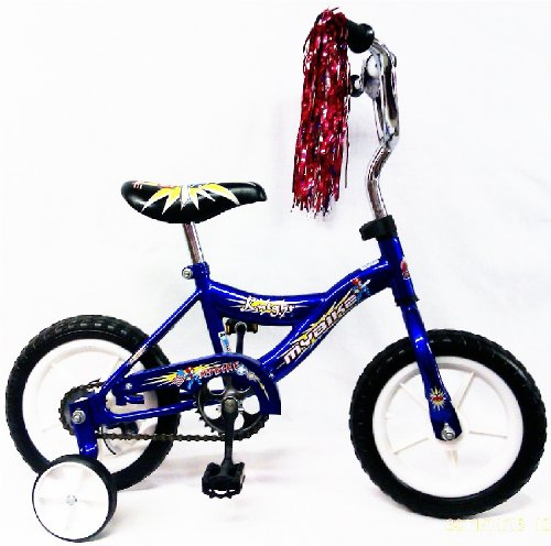 12- inch Children Bicycle W/Training Wheel Color Blue for Boy