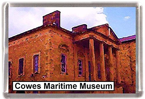 Kühlschrankmagnet Cowes Museum Geschenk Tourist Souvenir