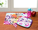 Zak! Designs Placemat with My Little Pony Graphics, BPA-free Plastic