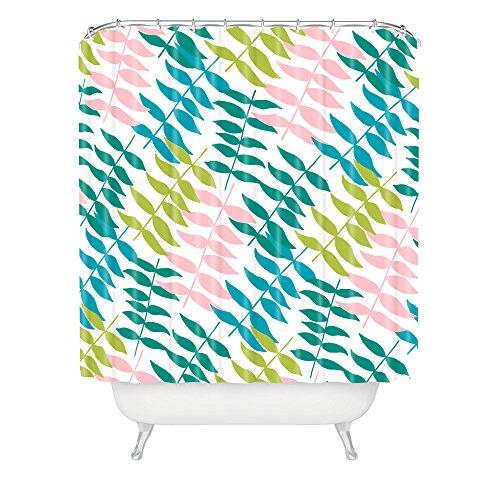 Deny Designs Zoe Wodarz Poolside Pastels Shower Curtain front-634534
