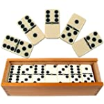 Premium Set of 28 Double Six Dominoes...