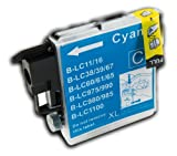 The Ink Squid 1 X Lc985C Cyan (Blue) High Capacity Compatible Ink Cartridge For Brother Dcp-J315W Printer