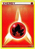 Pokémon Single Trading Card - FIRE ENERGY (Black & White #106/114)