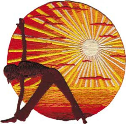 Application Sunset Yoga Patch