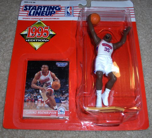1995 Clarence Weatherspoon NBA Starting Lineup Figure