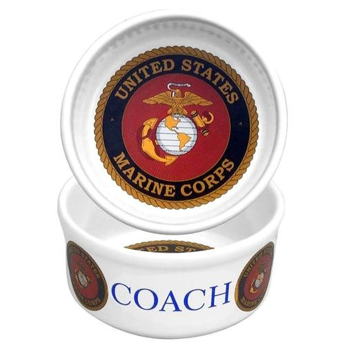 Personalized Pet Bowl - Marines