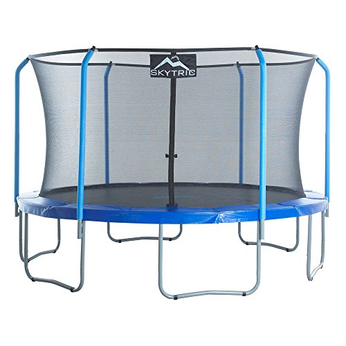SKYTRIC-Trampoline-with-Top-Ring-Enclosure-System-Equipped-with-the-EASY-ASSEMBLE-FEATURE-13-Feet