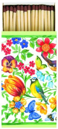 extra-long-matches-giardino-bellino-flowers-and-birds