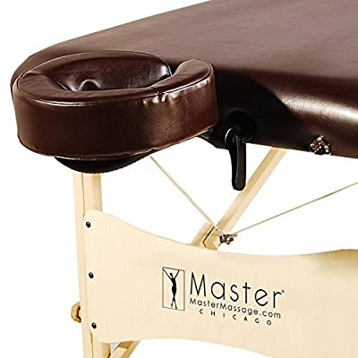 Master Massage Balboa LX Portable Massage Table Package, Chocolate Luster, 30 Inch