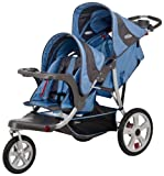 InStep Safari Double Tandem Stroller (16-Inch, Blue)