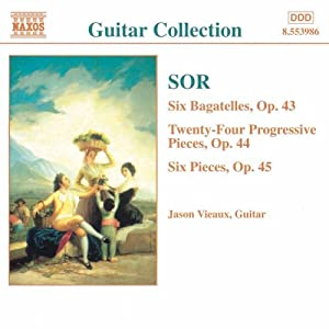 Sor - Guitar Music from Naxos