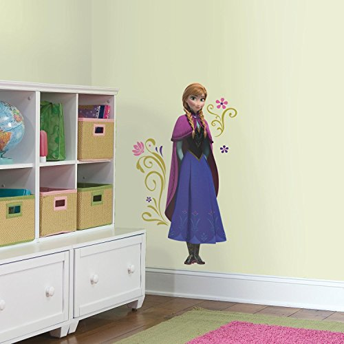 RoomMates Frozen's Anna Giant Peel and Stick Wall Decals