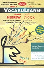 VocabuLearn: Hebrew, Level 1  by Penton Overseas, Inc.