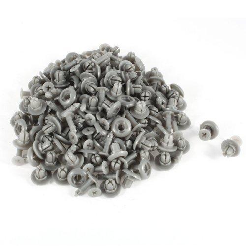 bise-de-voitures-clips-expansion-plastique-rivet-100-pcs-gris