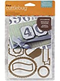 Cuttlebug Cricut Cuttlebug Labels and Such 10-Piece Cut and Emboss Die Set
