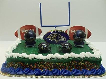 Raven Football Cake Ravens Birthday Cake
