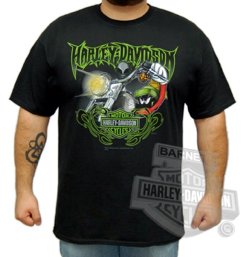 Harley-Davidson Mens Marvin Edge Black Short Sleeve T-Shirt (2X-Large)