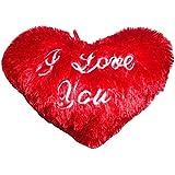 ATORAKUSHON MUSICAL HEART TEDDY SOFT TEDDY BEAR LOVE VALENTINE COUPLE BIRTHDAY GIFT CUSHION PILLOW - B01AM5T01W