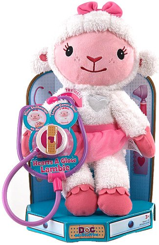 Doc McStuffins Hearts a Glow Lambie Doll