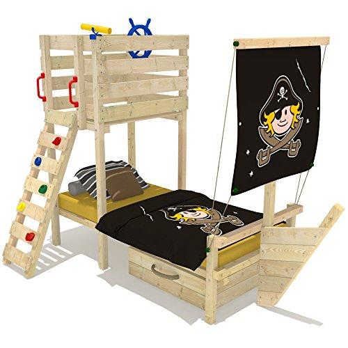 Piratenschiff bett preisvergleiche erfahrungsberichte - Kinderzimmer kletterturm ...