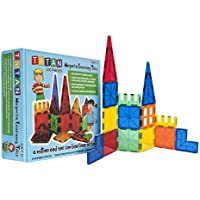 Tytan Magnetic 100-Piece Tiles Building Set