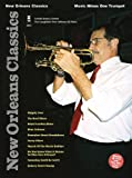 img - for Music Minus One Trumpet: New Orleans Classics (Sheet Music and CD Accompaniment) book / textbook / text book