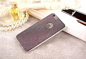 Apple Iphone Glitter Skin Soft Silicone Slim Back Cover Case for Apple iPhone 5 / 5S - Black Color