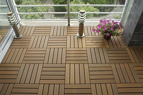 U Sen Tree Pure Ps Outdoor Deck Patio Flooring Interlocking Tiles