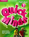 Quick Minds Level 3 Pupil's Book with...