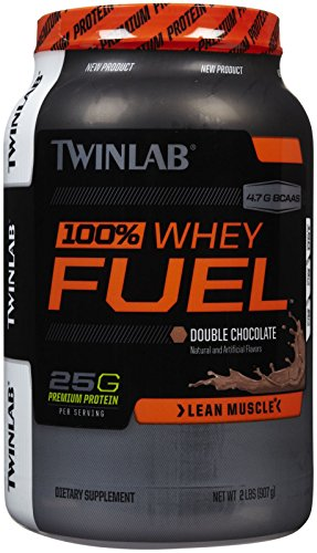 Twinlab 100% Whey Fuel Nutritional Shake, Double Chocolate, 2 Pound (Whey Fuel Protein compare prices)