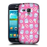 Head Case Yogurt & Ice Cream Fast Food Case For Samsung Galaxy S3 Iii Mini I8190