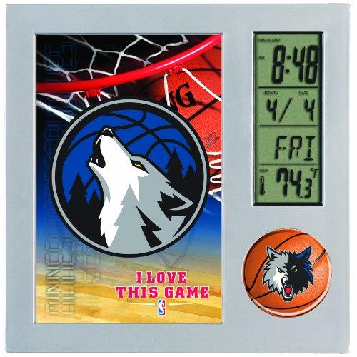 NBA Minnesota Timberwolves Digital Desk Clock