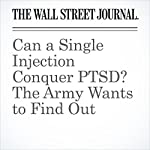Can a Single Injection Conquer PTSD? The Army Wants to Find Out | Michael M. Phillips