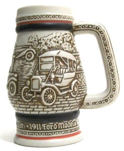 AVON Beer Stein c1982 Automobiles of the World