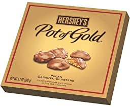 Hershey's Pot of Gold Pecan Caramel Clusters, 8.7 oz