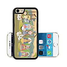 buy Liili Premium Apple Iphone 6 Iphone 6S Aluminum Snap Case Small Nativity Scene With Holy Family A Shepherd And Magi Image Id 16385745