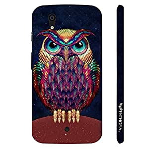 Micromax Canvas A1 Angry Insomniac designer mobile hard shell case by Enthopia