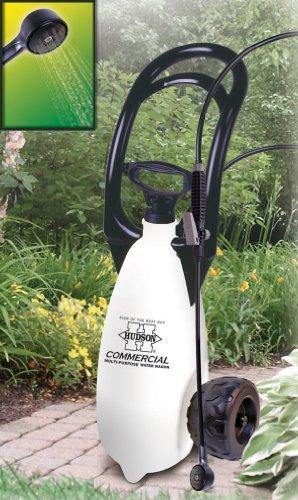 hudson porta sprayer multi purpose 3 gallon shower spray