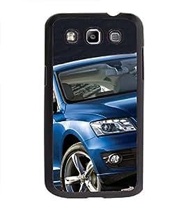 Printvisa Ultra Luxury Blue Car 2D Hard Polycarbonate Designer Back Case Cover for Samsung Ga...