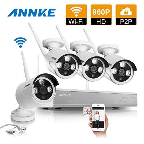 Annke 4CH 960P Wireless Security