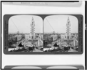 Photo: Looking over Dreamland from the top of the Shoot the Chutes,Coney Island,N.Y.