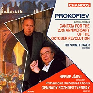Prokofiev - Vocal Orchestral Works from Chandos