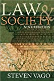img - for Law and Society (text only) 9th (Ninth) edition by S. Vago book / textbook / text book