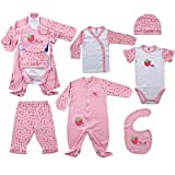 6-Piece Sweet Baby Layette Set (Newborn)