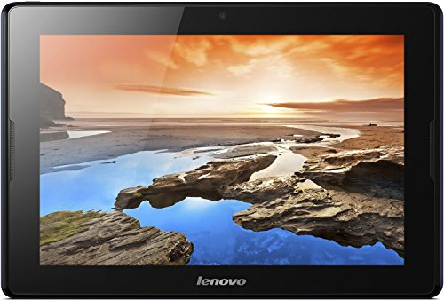Lenovo A10-70 25,7 cm (10,1 Zoll HD IPS) Tablet (ARM MTK 8121 QC, 1,3GHz, 1GB RAM, 16GB eMMC, 5MP Cam, GPS, Touchscreen, Android 4.2) midnight blau