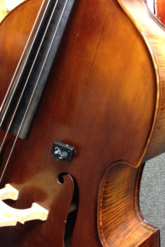 Upright Bass Acoustic Pickup By Myers Pickups ~ See It In Action! Copy And Paste: Myerspickups.Com